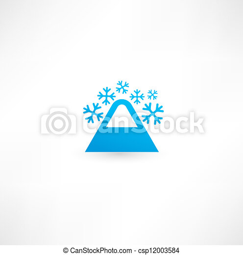 Mountain icon - csp12003584