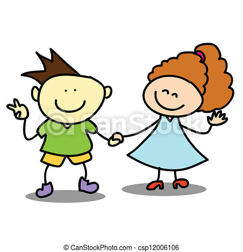 Niños feliz caricaturas - Imagui