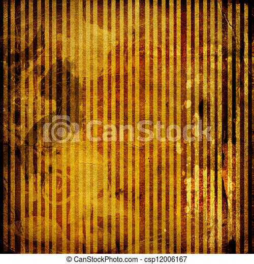 Grunge crumpled paper design in scrapbooking style - csp12006167