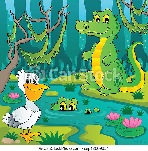 Clip Art Swamp Clipart swamp stock illustrations 2064 clip art images and royalty theme image 3 vector illustration