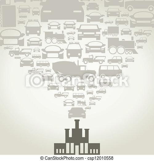Automobile factory - csp12010558