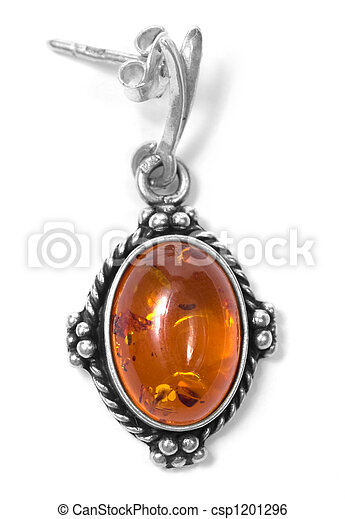 amber earing - csp1201296