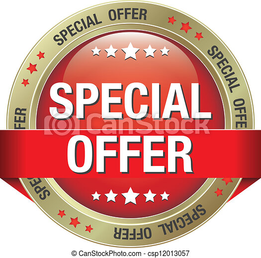 Vector Special Offer Red