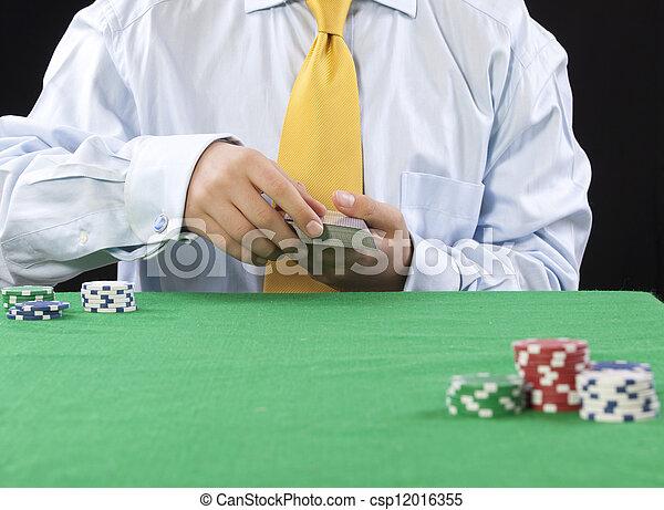 gambling - csp12016355