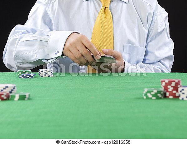 gambling  - csp12016358