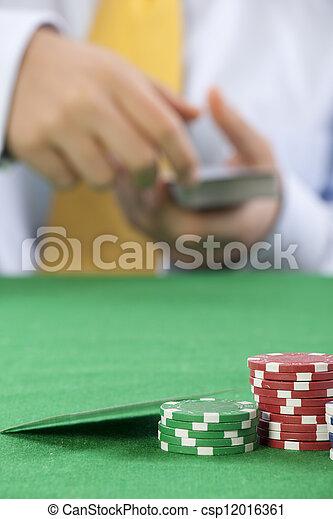 gambling  - csp12016361
