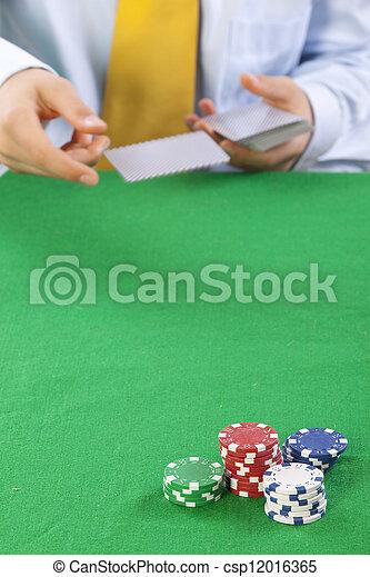 gambling  - csp12016365