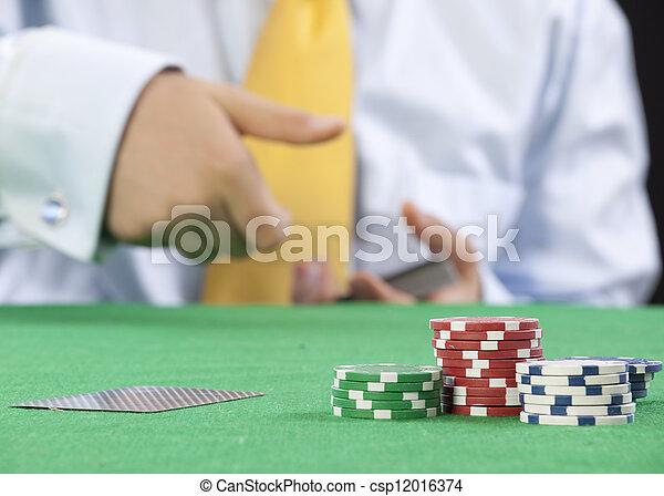 gambling - csp12016374
