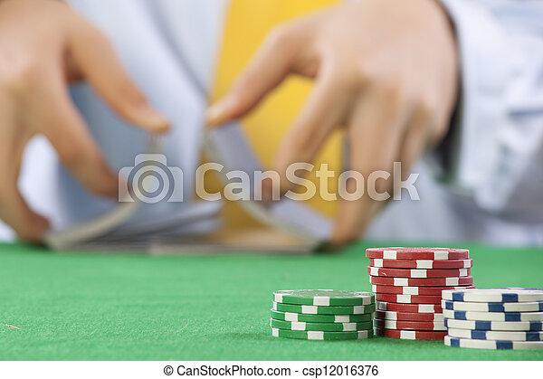 gambling  - csp12016376