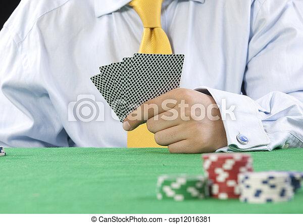 gambling - csp12016381
