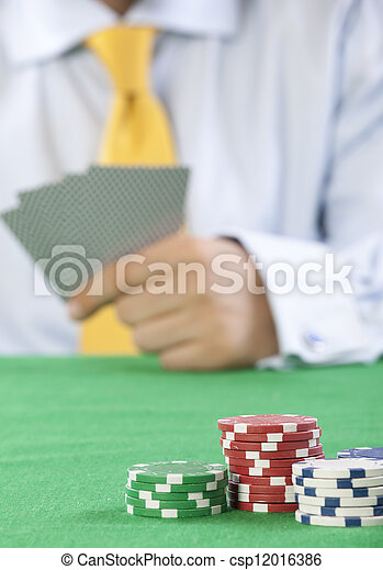 gambling  - csp12016386
