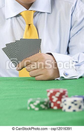 gambling  - csp12016391