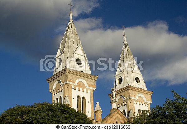 Colonial Church - csp12016663