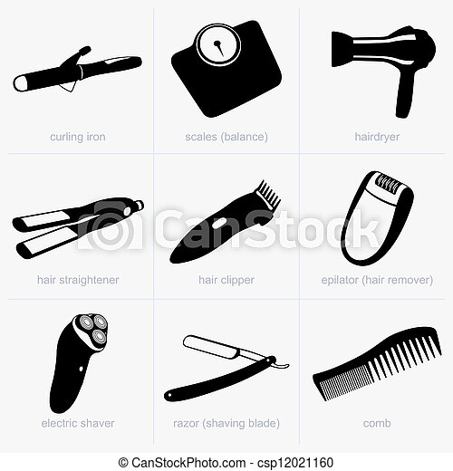Household objects - csp12021160