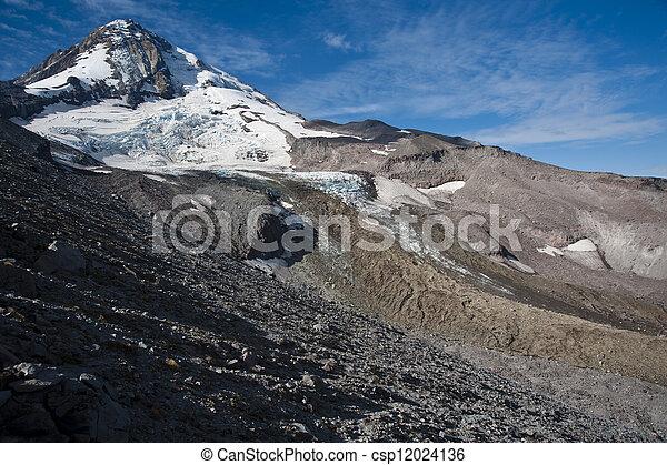 mt Hood Clipart on Mount Hood Glacier Clipart