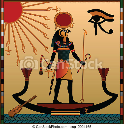 Religion of Ancient Egypt - csp12024165