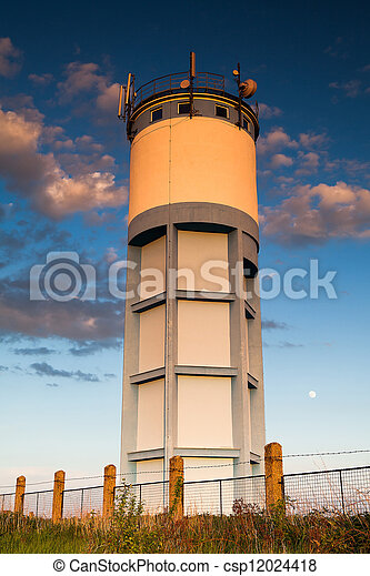 Historic water reservoir tower - csp12024418