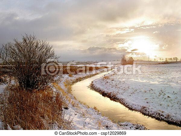 rural landscape - csp12029869