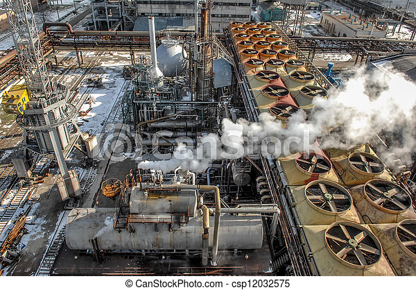 Nitrogen chemical plant