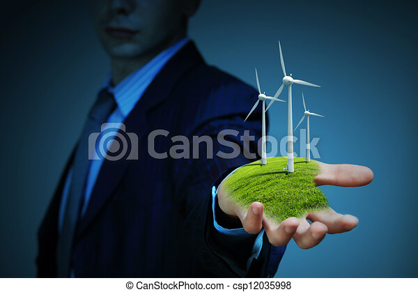 clean energy. windmills - csp12035998
