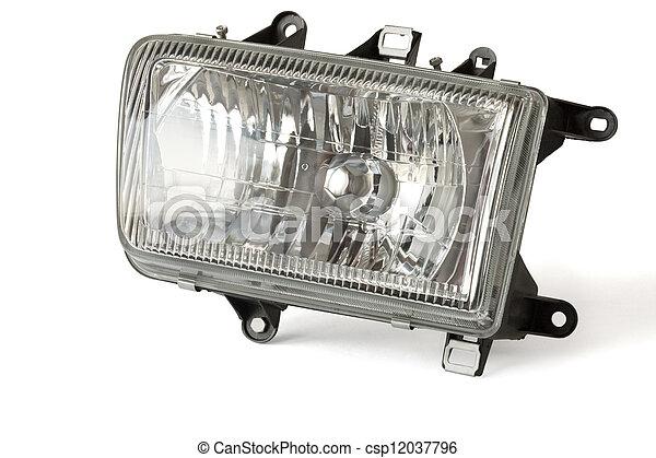 Automobile headlight - csp12037796
