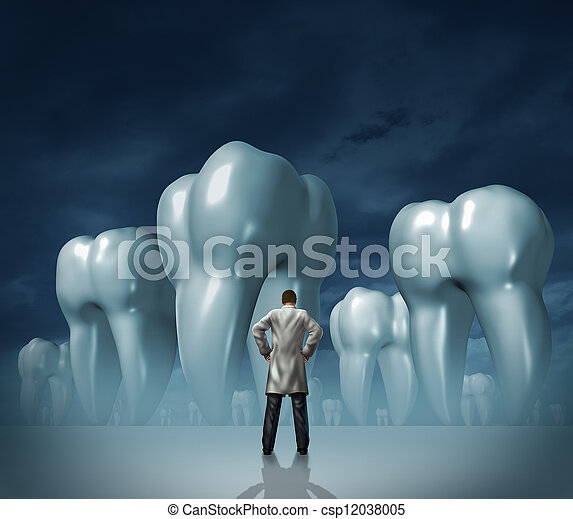 Dentist And Dental Care - csp12038005