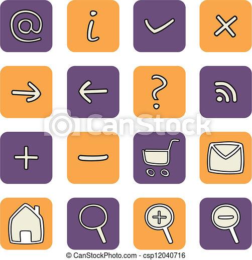 Vector web icon tools - csp12040716