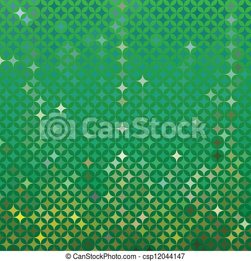 Vector abstract green detailed background - csp12044147