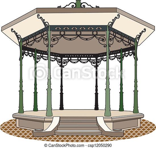 Kiosco o quiosco dibujo imagui for Imagenes de kioscos de madera