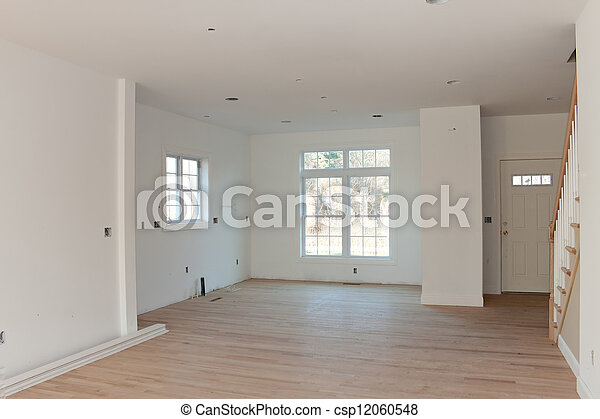 New Residential Home Interior Empty - csp12060548