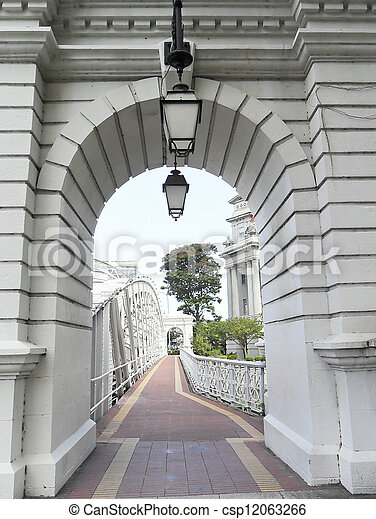 gateway of a bridge - csp12063266
