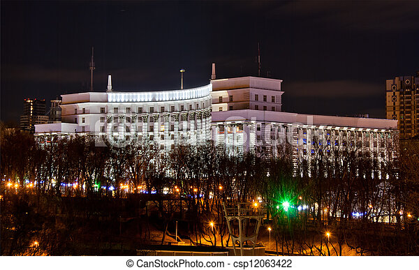 House of the Government of Ukraine - csp12063422
