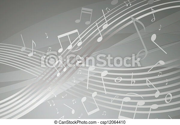 Musical Notes - csp12064410