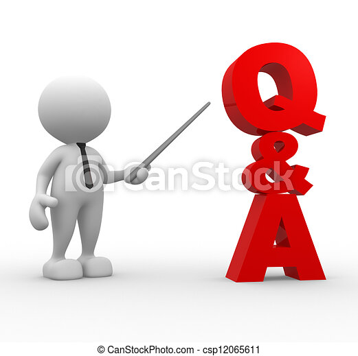 Q and A - 3d people - ...