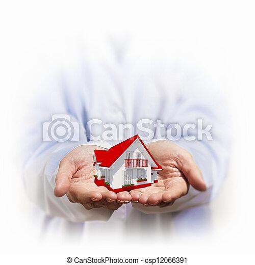 Residential building - csp12066391