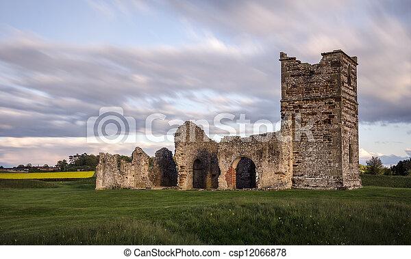 Ruined Mediaeval Church - csp12066878