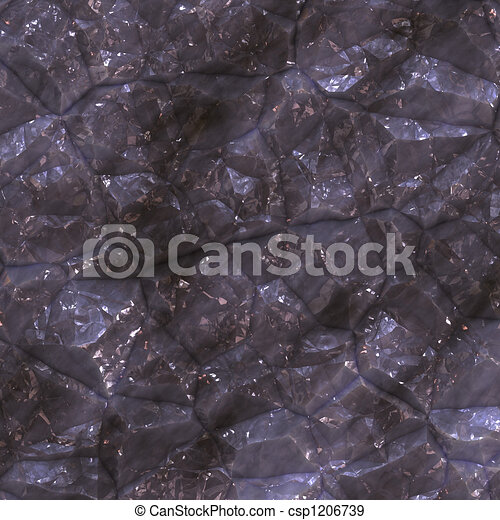 Faceted ore deposits - csp1206739