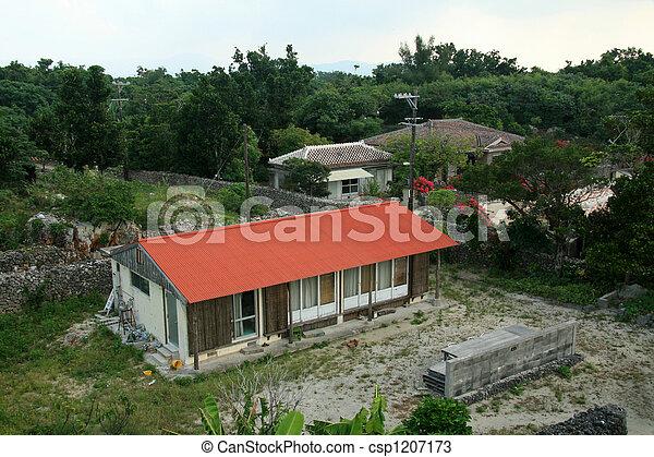 Taketomi Island , Okinawa, Japan - csp1207173