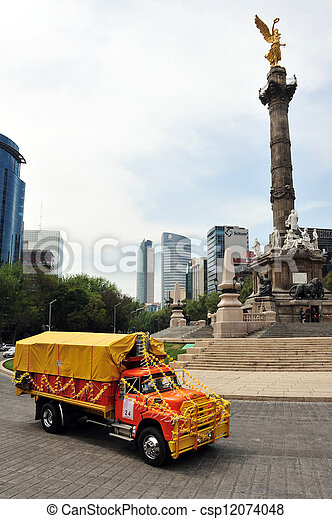 The Angel of Independence in Mexico City - csp12074048