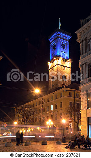 Lviv-City scene - csp1207621