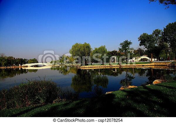 Tianjin Water Park beauty - csp12078254