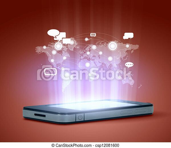 Modern communication technology - csp12081600