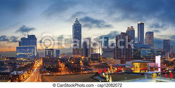 cidade,  Atlanta - csp12082072