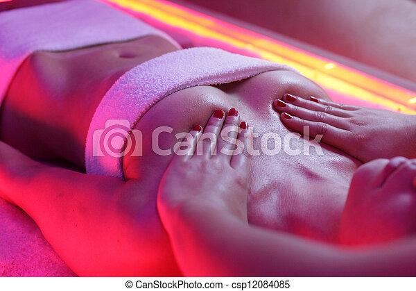 Boobs massage spa videos