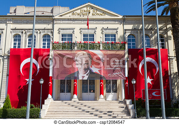 Izmir Government House - csp12084547