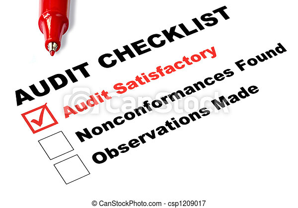 Audit Checklist - csp1209017