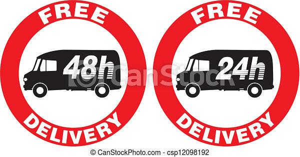 Fast Icon Vector Vector Free Delivery Icon