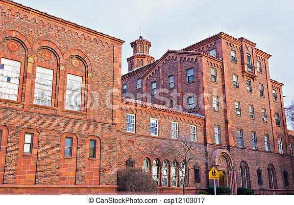 Historic school in Harrisburg - csp12103017