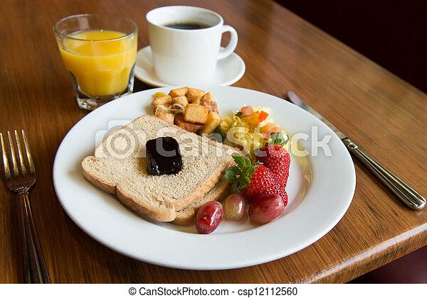 Almoço americano