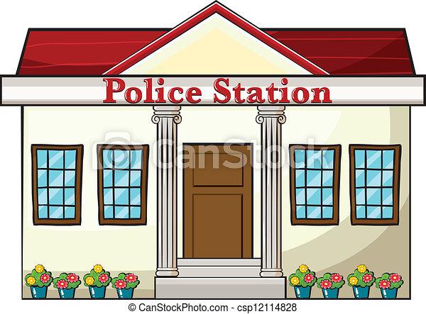 Dibujo de estación de policía - Imagui